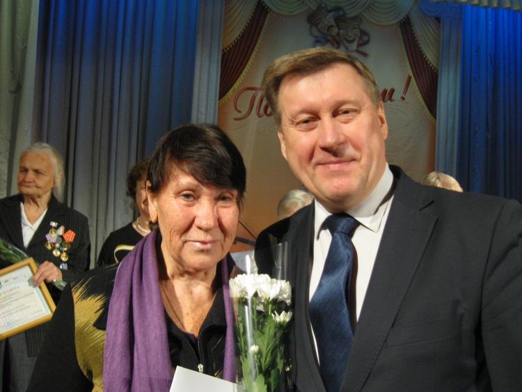 Мэр города Новосибирска Локоть Анатолий Евгеньевич на торжественном мероприятии